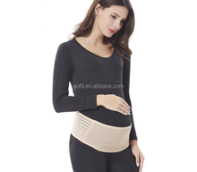 FDA breathable back pregnancy abdominal binder band belly maternity support belt