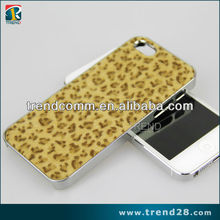 leopard pattern sticker cover for iphone 5