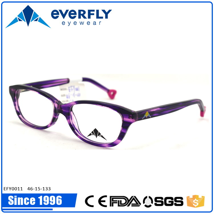 Stylish fashionable kids optical frames Italy quality acetate design glasses popular hot selling in 2016 EU market