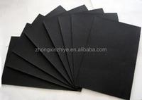 Cheap black paper board for jewerly box/ bag/ tags