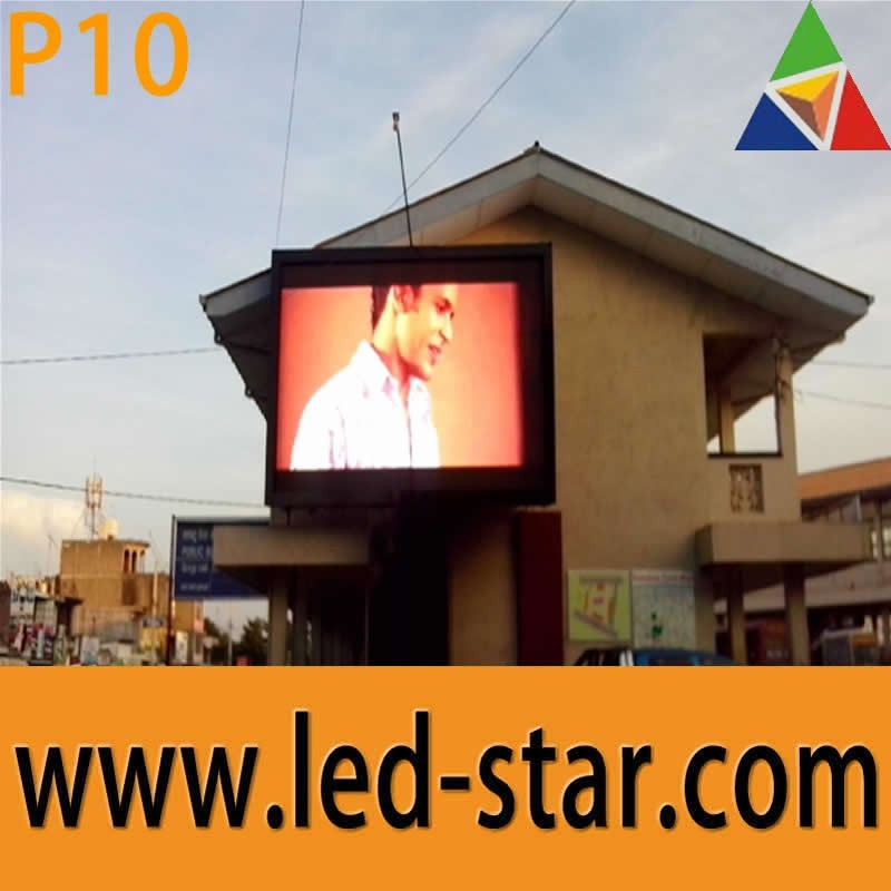 Led Star advertising outdoor P10 full color video Led Display