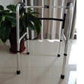 Removable adjustable aluminum walker for diabled people