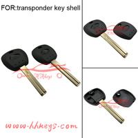 Hundai replacement transponder key shell with Toy49 blade