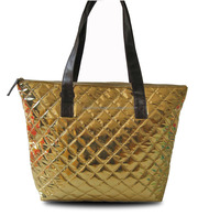 2016 Promotional Woman Handbag PU Leather Tote Bag
