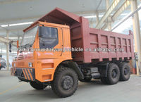 6 x 4 dump truck