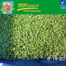 New Crop Hot Sale supply frozen iqf green chilies