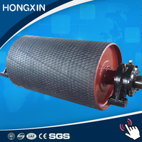 coal mining wear resistant conveyor diamond grooved rubber lagging sheet
