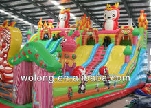 2013 giant inflatable water slide for adult inflatable pool slide