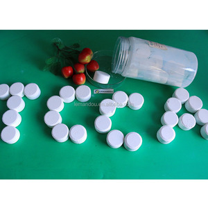biocide in swimming pool Trichloroisocyanuric Acid tcca 90% chlorine tablets