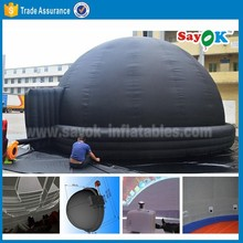 giant portable school mobile cinema inflatable projection planetarium dome tent