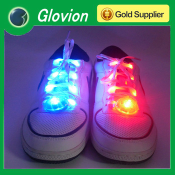 New Arrival LED glowing shoestring,shoelaces light in the dark