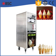 pasteurization aging integrated soft ice cream machinery