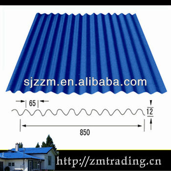 lowest ridge corrugated iron galvanized roof sheet metal roofing