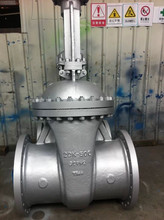 JIS pneumatic operated knife slurry gate valve / JIS water meter gate valve