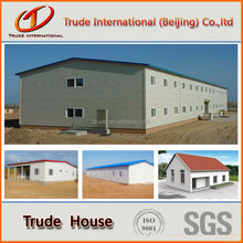 color steel EPS sandwich panel prefabricated house