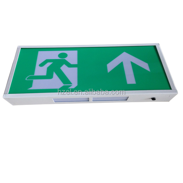3W Led Wall Mounted Building Exit Signs