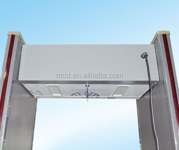 Advanced waterproof walkthrough metal detector , Metal detector gate,door frame metal detector price MCD-300