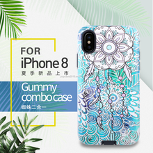 Custom cell phone case for iphone 8,back cove housing for iphone 8