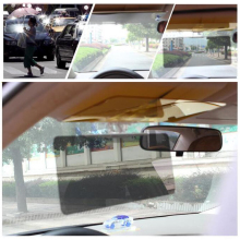 1Pcs Car Sun Visor HD Car Anti-Glare Dazzling Goggle Day Night Vision Driving Mirror UV Fold Flip Down HD Clear View Visor