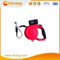 Chi-buy Dog Leash Retractable 8 m, Attached Bag and Bag Dispenser