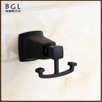 12135 new fashion American style wall mounted coat hook zinc alloy bathroom accessories set