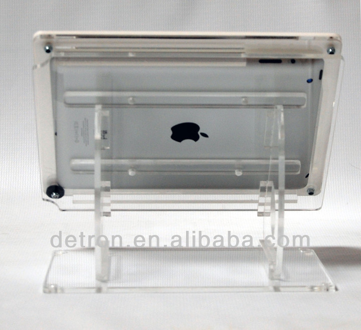 Clear acrylic display stand for ipad BW-024
