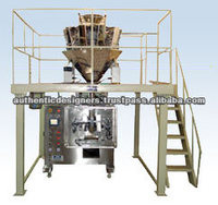 Automatic Form Fill Seal Machine with Multi Head Weigher for Chips Packing
