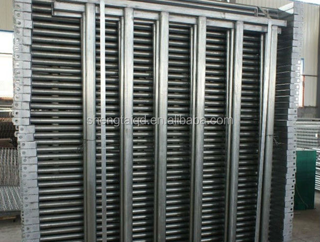 Factory Direct Australia standard High quality Pre-galvanized steel rails Cattle yard panels / cattle fencing panels