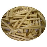 Factory Sale Natural Bamboo Golf Tee golf Batting tees