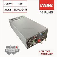 48V 20.8A 1000W 110V/220V AC/DC Switching Power Supply CCTV power CE ROHS approved