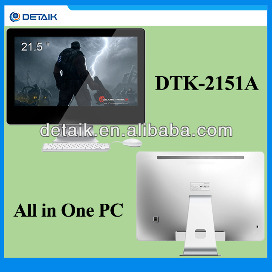 21.5 inch All in One Computer / Desktop AIO PC for Home and Office / 1920*1080 FHD Display