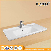 Wholesale china cheap custom ceramic basin cabinet