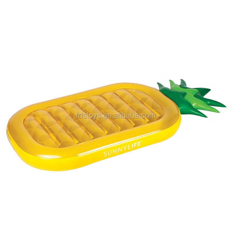 Giant pool float pineapple