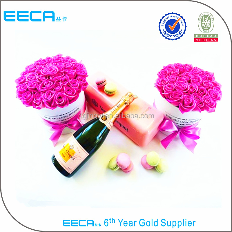Small Flower Cylinder Packaging round paper box/paper tube box