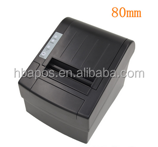 HBA-8220 Widely used 80mm thermal receipt printer with auto cutter and USB interface for pos systems