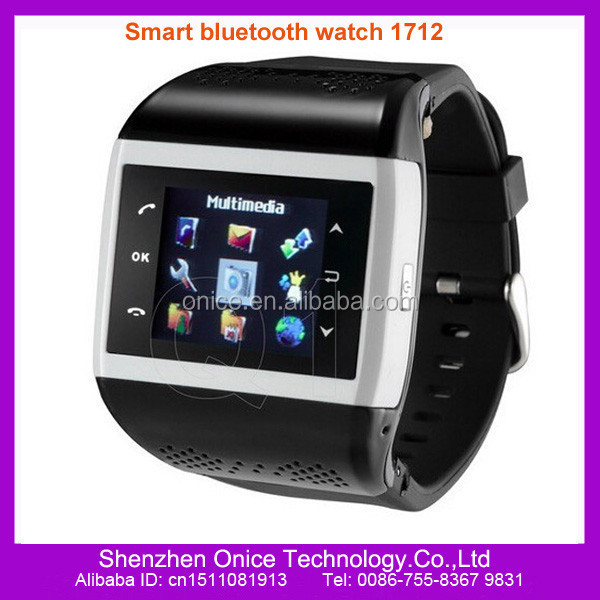 low cost gsm smart bluetooth mobile watch Q1 mobile watch phone price in pakistan mp4 watch Shake to change songs & themes