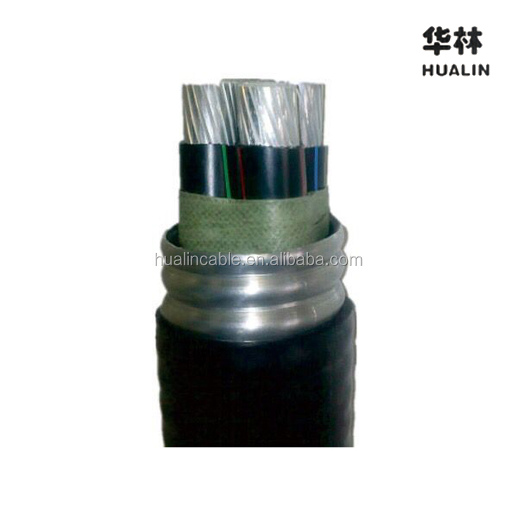 HUALIN All Aluminum Alloy Conductor (AAAC) YJHLV82/ACWU90 Cable Used for Construction Project