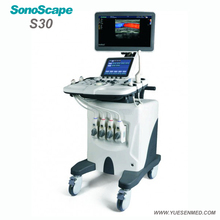 SonoScape S30 advanced 3D 4D color dopper ultrasound scanner