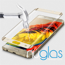 Nuglas 3D Full Size Curved Edge Tempered Glass Screen Protector for Samsung S7