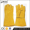 Yellow Cow Leather Welding Gloves Cow