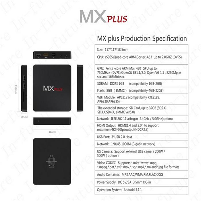 MX Plus 1G 8G S905 5 (7)