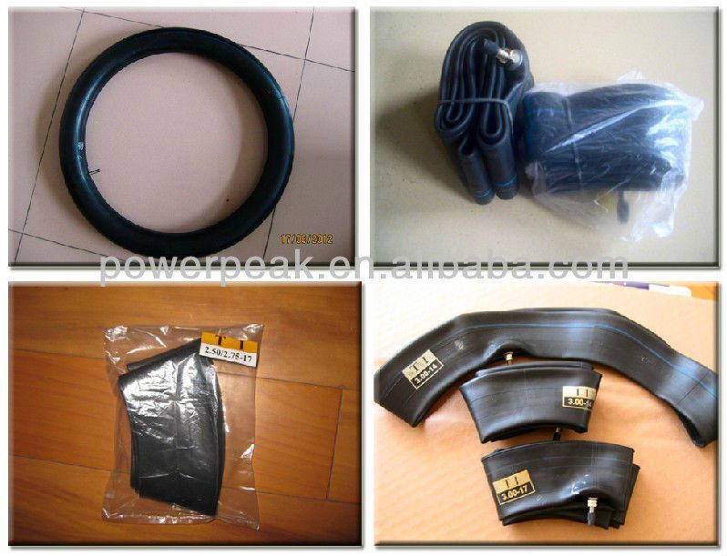 good quality motorcycle tyre tube 18*300 17*300