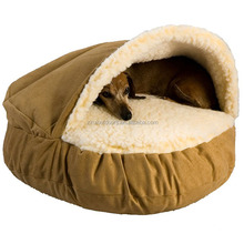 Factory Wholesale Cozy Cave Dog Bed