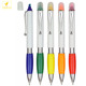 LQPT-PP052 mixing colors for promotional highlighter marker pen plastic ball pens with highlither and marker