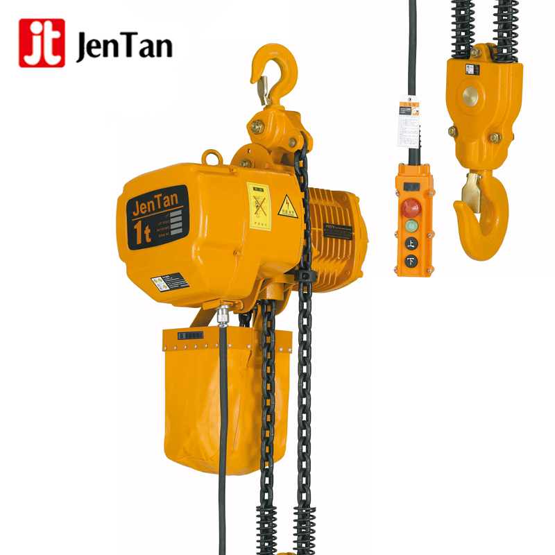 JenTan Factory wholesale HHBB Type electric chain hoist with clutch