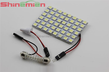 Car Interior 5050 48 SMD LED Light Panel light with T10 Festoon BA9S DC12V