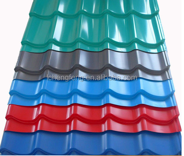 Metal galvanized coated corrugated roofing sheets