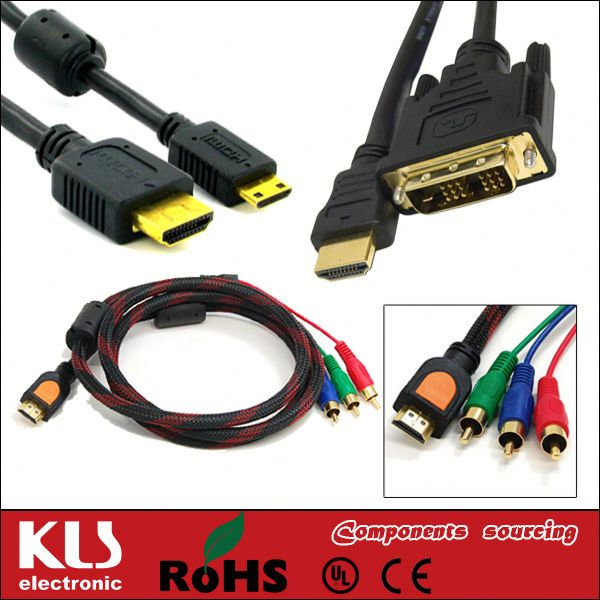 cable tv hdmi to rca UL CE ROHS 360