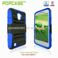 2013 latest design super combo case for zte n9511 source