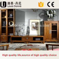 Multifunctional Living Room Furniture Antique Design Wooden TV Table